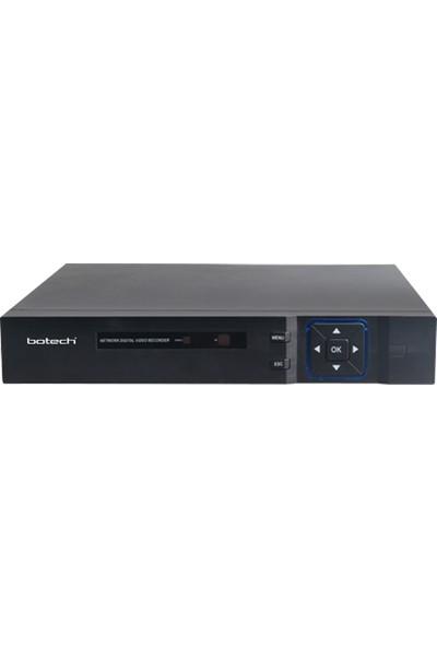 Botech BS-9004 4 Kanal Xmeye Kayıt Cihazı Eş Zamanlı HDMI ve VGA Desteği