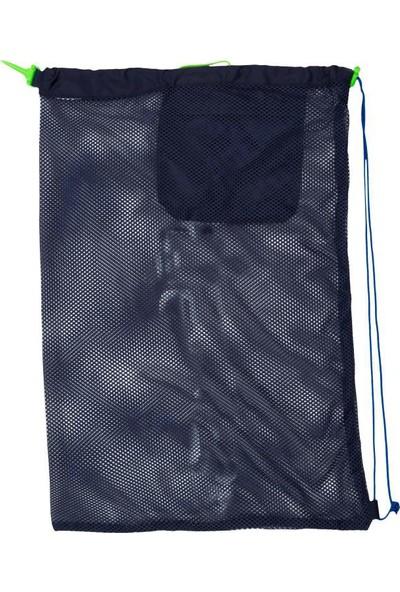 Nbj Yüzücü File Çantası Geniş Hacim Stoperli Kordo Büyük Boy 30Lıtre