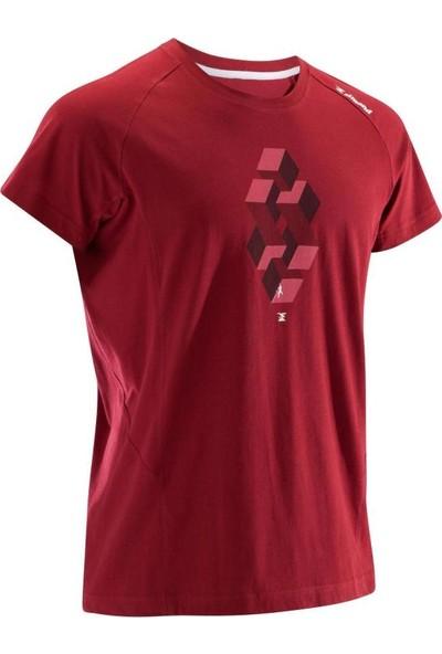 Sımond Tırmanış Tişörtü Erkek Kısa Kollu Çabuk Kuru Nefes Alır