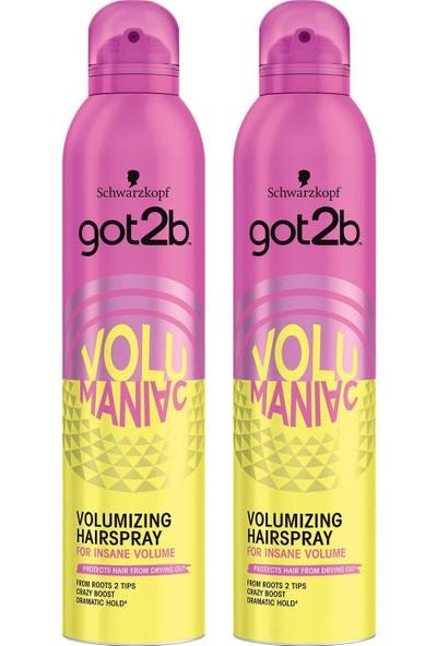 Got2B Volumaniac Sprey 300 ml x 2