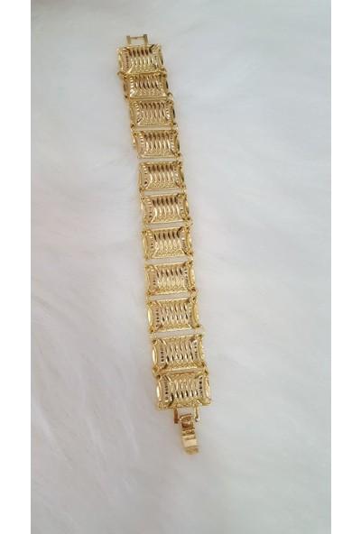 Evim Düzen Altın Kaplama Bileklik 54Ks-402