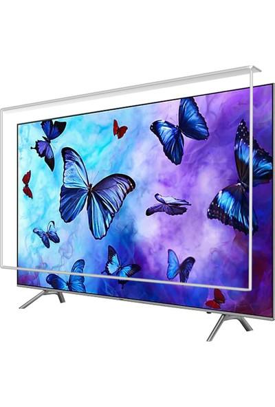Etiasglass Samsung 49Nu7500 Curved Tv Ekran Koruyucu / Ekran Koruma Camı