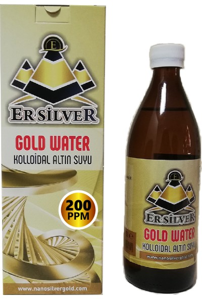 Kolloidal Altın Mineralli Su (200 Ppm-500 ml)