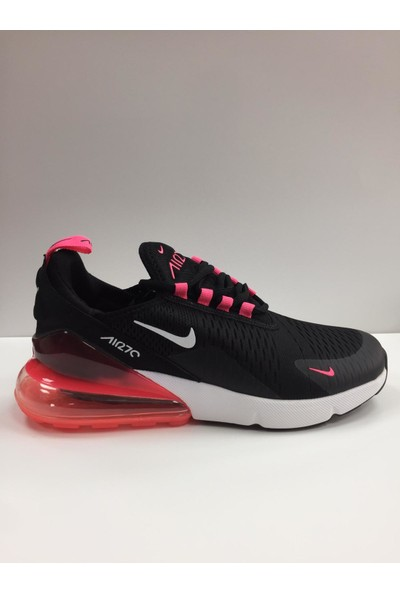 Nike Air Max 270 Kadın Ayakkabısı Siyah - Pembe