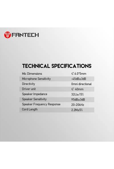 Fantech HG19 Iris RGB Oyuncu Kulaklığı