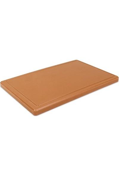 Oleotech Doğru Kesme Tahtası 2 x 30 x 50 cm Kahverengi