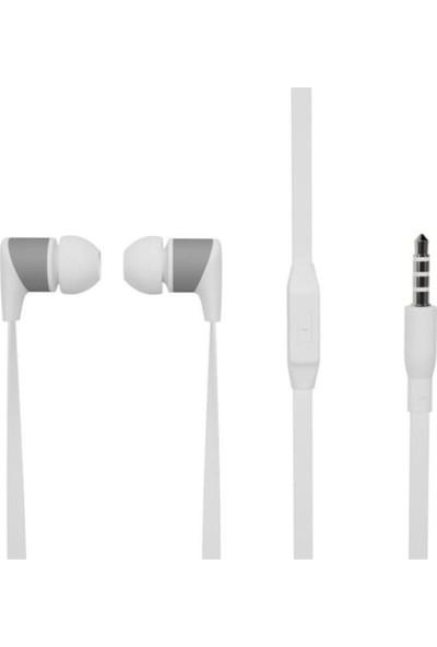 Soultech Mikrofonlu Kulakiçi Kulaklık 3.5mm Beyaz KK003-6