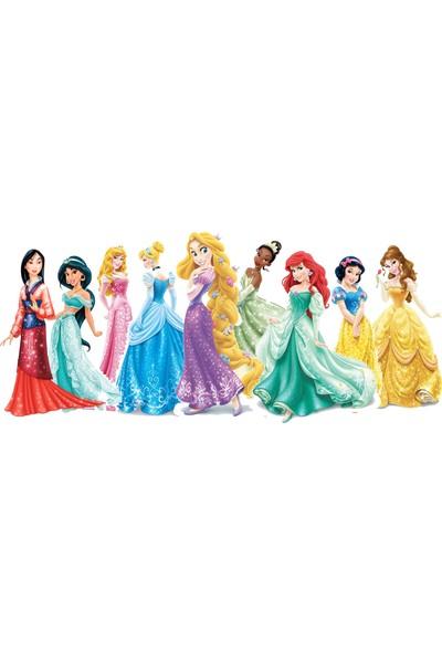 Areksan Reklam Disney Prensesleri Çocuk Odası Duvar Sticker - 3