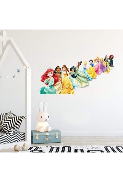 Areksan Reklam Disney Prensesleri Çocuk Odası Duvar Sticker