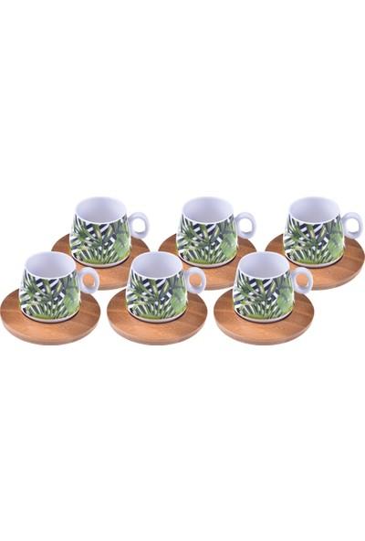 Bambum Fidan – 6 Kişilik Kahve Fincan Takımı