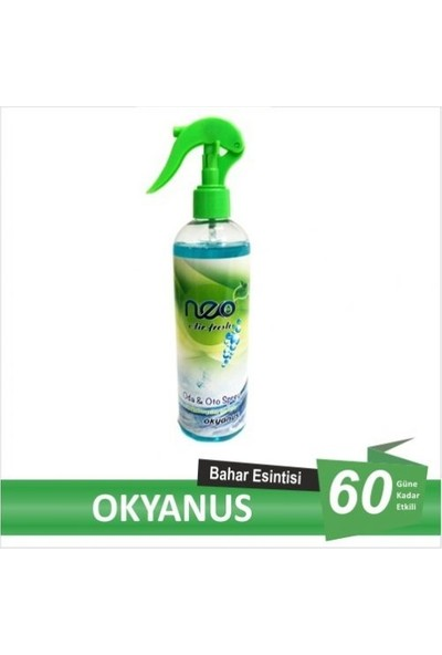 Neo Air Fresh Oda Kokusu, Oto Kokusu, Okyanus 400 ml