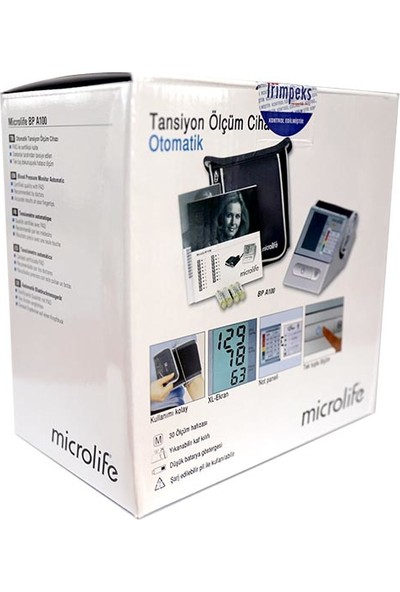 Microlife Bp A100 Otomatik Koldan Ölçer Tansiyon Cihazı