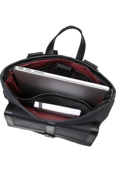 Classone BP-W100 Bayan Çantası 13.3-14 inç Notebook Sırt Çantası-Siyah