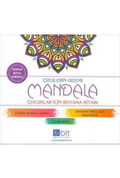 Çizgilerin Gizemi Mandala Boyama Kitabı