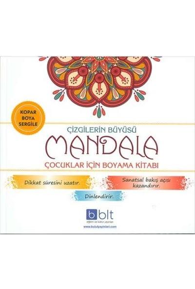 Çizgilerin Büyüsü Çocuklar İçin Mandala Boyama Kitabı