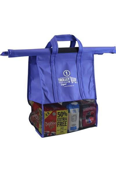 Trolley Bags 3'lüFileli Pratik Alışveriş Çanta Sistemi