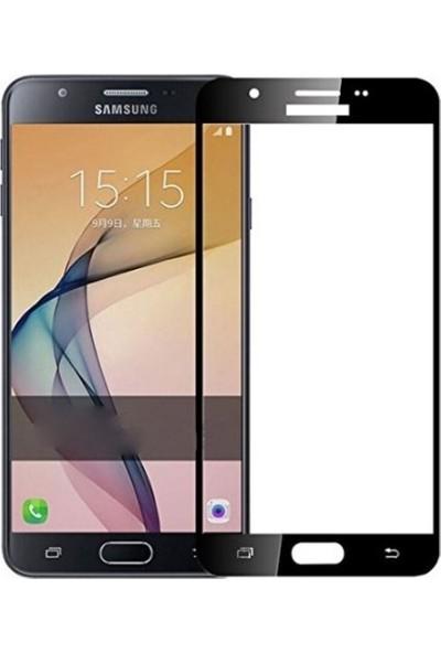 Sunix Samsung Galaxy A5 2016 Tam Kaplayan Ekran Koruyucu Cam Gold