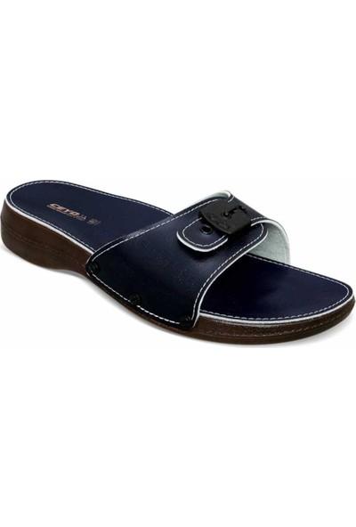Ayakkabıbu Lacivert Ceyo 6500 Kadın Terlik