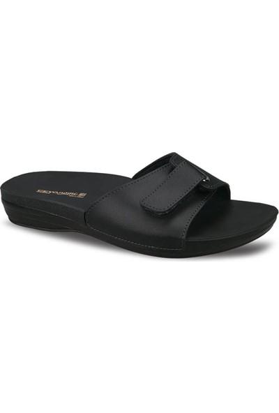 Ayakkabıbu Siyah Ceyo Marina-1 Kadın Terlik