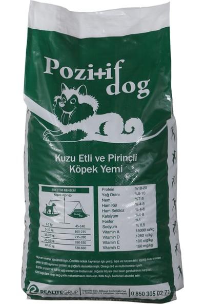 Pozitif Dog Kuzu Etli ve Pirinçli Köpek Maması 15 kg