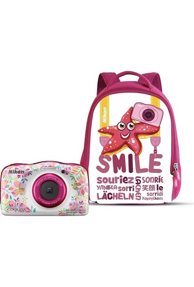 Nikon Coolpix W150 Holiday Kit (Flower)