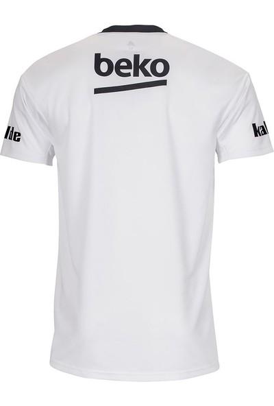 Adidas Beyaz Erkek Futbol Forması Dx3707 Bjk H Jsy