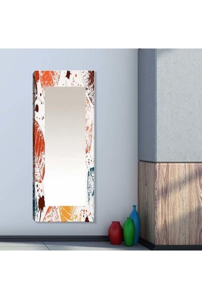 Tablo Center Dekoratif 40 cm x 120 cm Kanvas Tablo Ayna