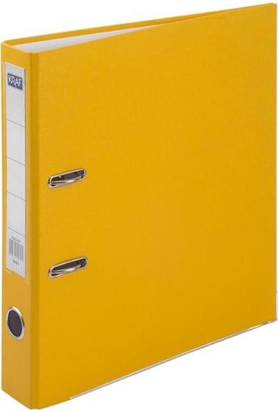 Kraf Büro Klasörü Dar 1030 Sarı