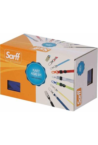 Sarff Kart Askı İpi Met.Klip.Kırmızı 50Li 15311203