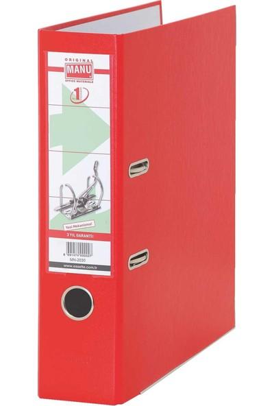 Manu Büro Klasörü Geniş Mn-2030 Kırmızı