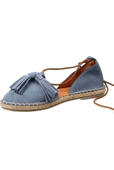 Hammer Jack K.Mavi Süet Kadın Ayakkabı 195 1684-Z