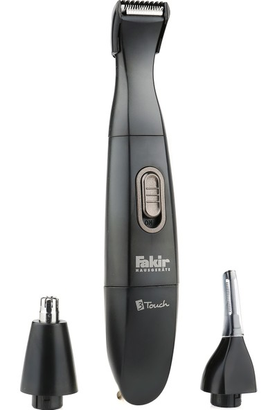 Fakir 3-Touch Kulak & Burun Kılı Temizleme, Kaş ve Favori Şekillendirme Cihazı