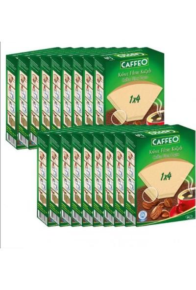 Caffeo Kahve Filtre Kağıdı 1/4 1440 Adet