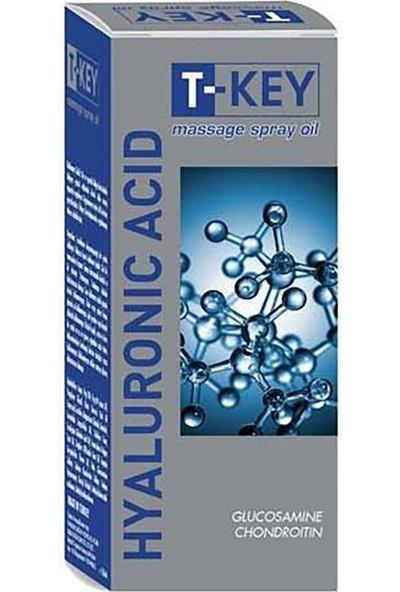 T-Key Hyaluronic Acid Masaj Spray Yağı 150 ml