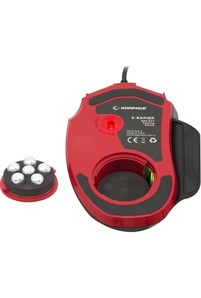 Rampage SMX-R17 X-Rapier 7200 DPI Gaming Oyuncu Mouse