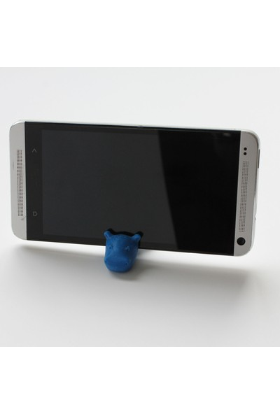 Mumu Hipo Figürlü Masaüstü Cep Telefonu ve Tablet Standı