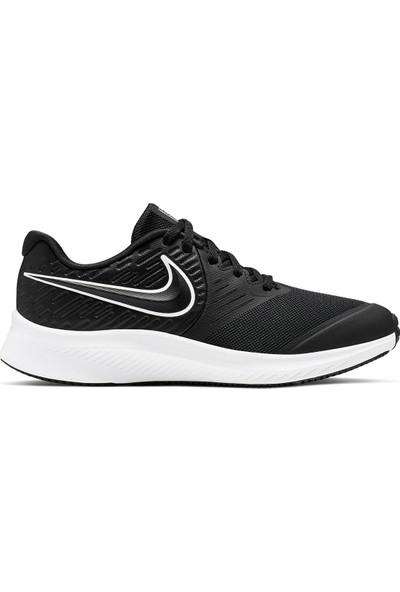 Nike Star Runner 2 Günlük Spor Ayakkabı Gs Siyah