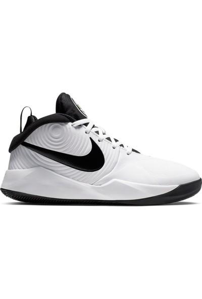 Nike Team Hustle D 9 Günlük Spor Ayakkabı Gs Beyaz