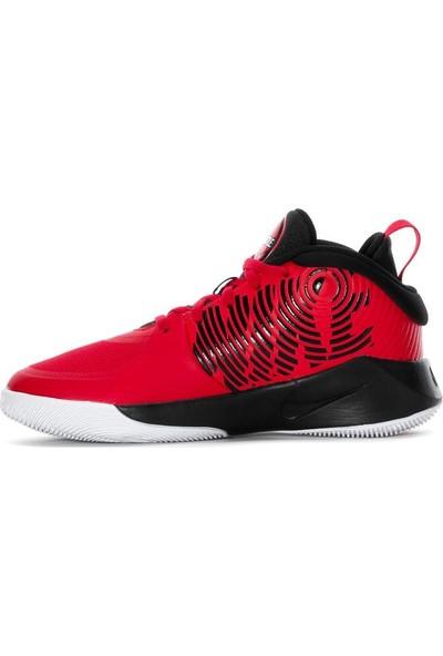 Nike Team Hustle D 9 Günlük Spor Ayakkabı Gs Spor Ayakkabı Kırmızı