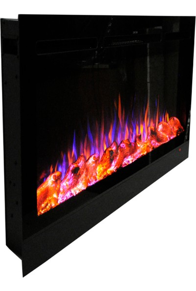 Ateşin Efendisi Elektrikli Şömine Boge 3 Renkli 165'LIK Plazma