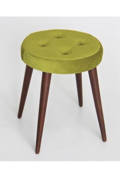 Canisa Concept Çok Rahat Oturum Alanlı Tabure & Puf - Renk : Yeşil