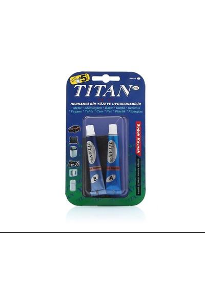 Titan Süper Yapıştırıcı 2'li Tüp