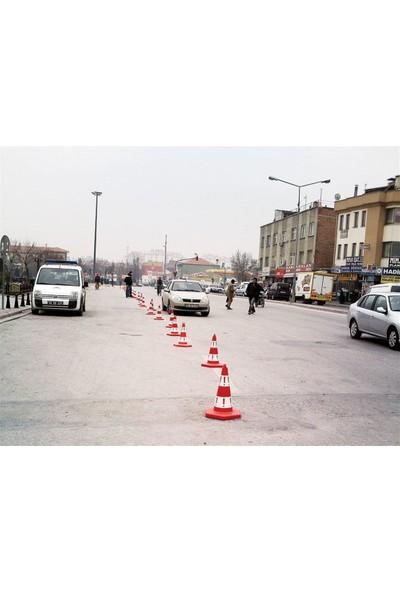 Evelux Eko Trafik Konisi 50 cm Trafik Dubası