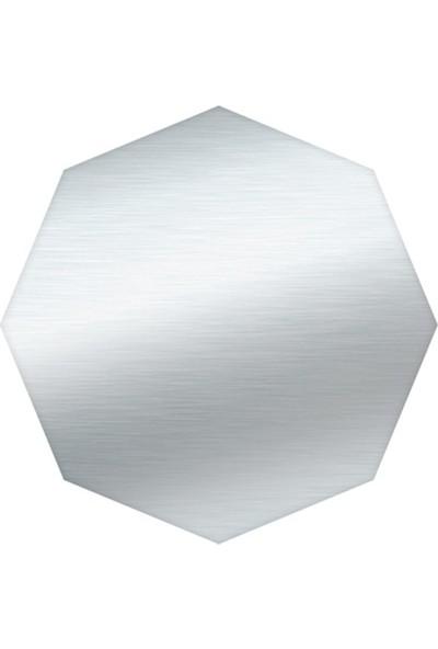 Asya Boş Sac Levha Sekizgen 60 cm Galvaniz 2 mm