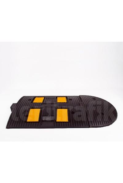 Mfk Plastik Kauçuk Hız Kesici, Yol Kasisi 50 x 40 x 4,5 cm - Eko