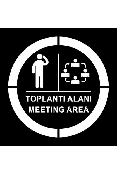 İleritrafik Toplantı Alanı Boyama Şablonu
