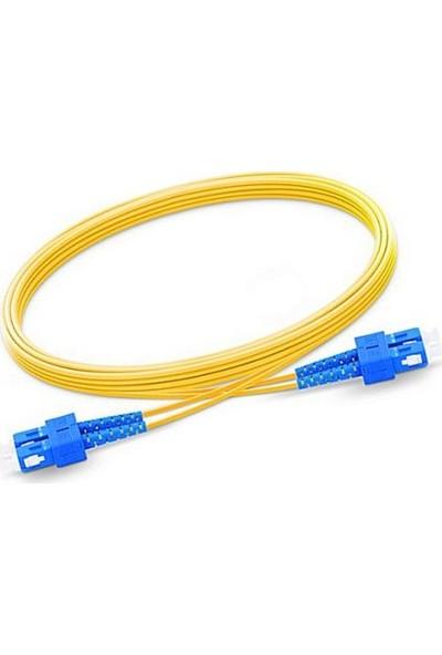 Fnet Sc / Sc Single Mode Duplex Optıc Patch Cord/Cable 3 mt