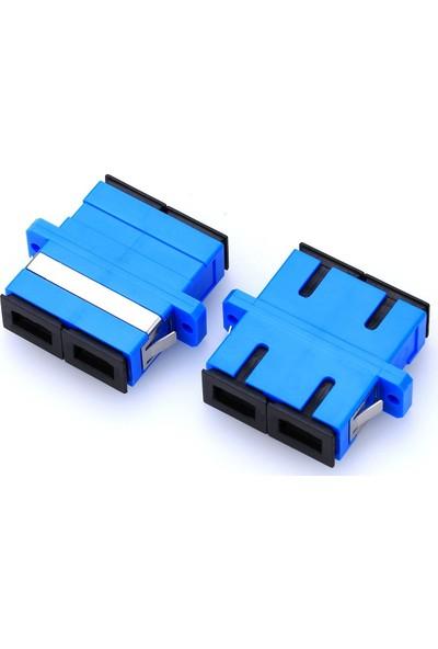 Fnet Communication Equipment Ftth Sc Upc Sm Duplex Fiber Optic Adapter
