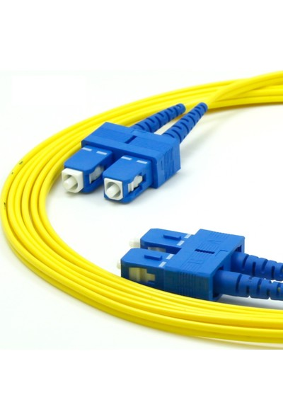 Fnet Sc / Sc Single Mode Duplex Optıc Patch Cord/Cable 2 mt