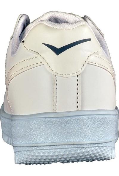 Lambirlent 2180 Beyaz Erkek Spor Ayakkabı